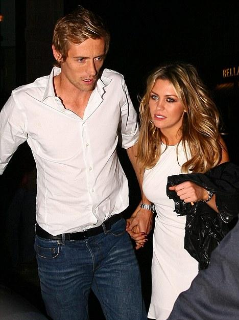 Abbey Clancy Peter Crouch And