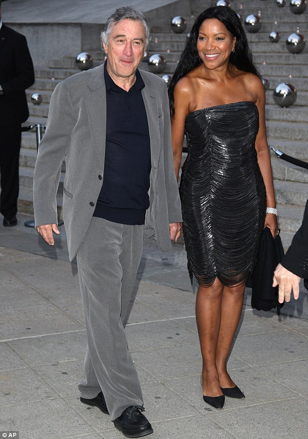 Actor Robert Deniro and wife Grace Hightower
