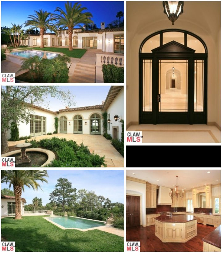 The Beckham's LA home