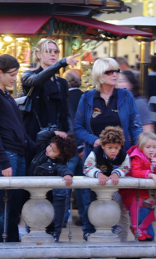heidi klum kids. Model Heidi Klum and her kids