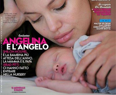 brad pitt and angelina jolie baby. of Angelina Jolie and Brad