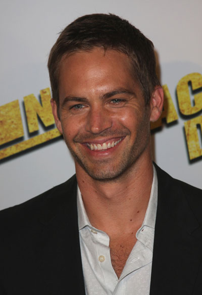 Handsome actor Paul Walker at a premiere: CELEBRITY Funny Photos