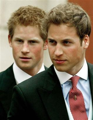 prince harry real father. ROYALTY Prince William And
