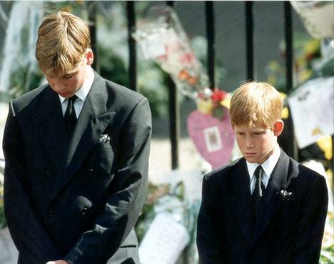 prince williams funeral. prince william and harry