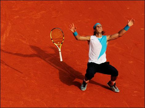 rafael nadal pictures. Rafael Nadal in a
